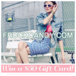 CLOSED-Frock Candy Giveaway