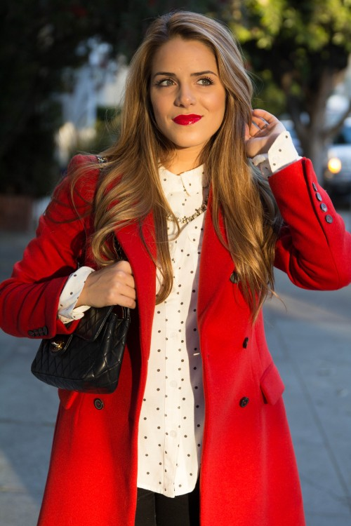 What Is A Red Coat | Fashion Women's Coat 2017
