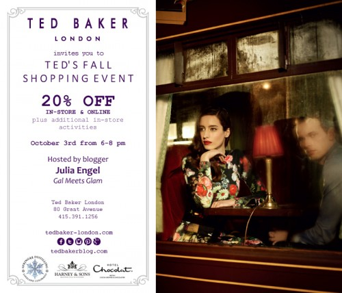 Ted Baker San Francisco Event