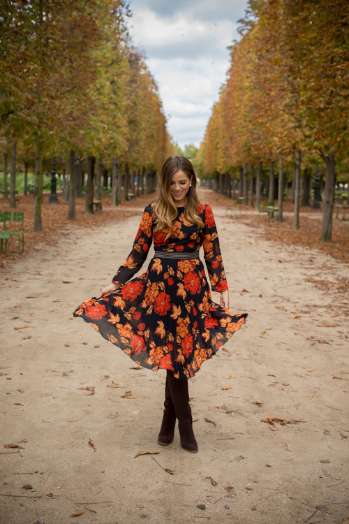 Tuileries Gardens In The Fall Gal Meets Glam