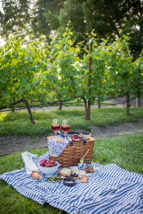 Perfect Napa Summer Picnic and Wine Tasting