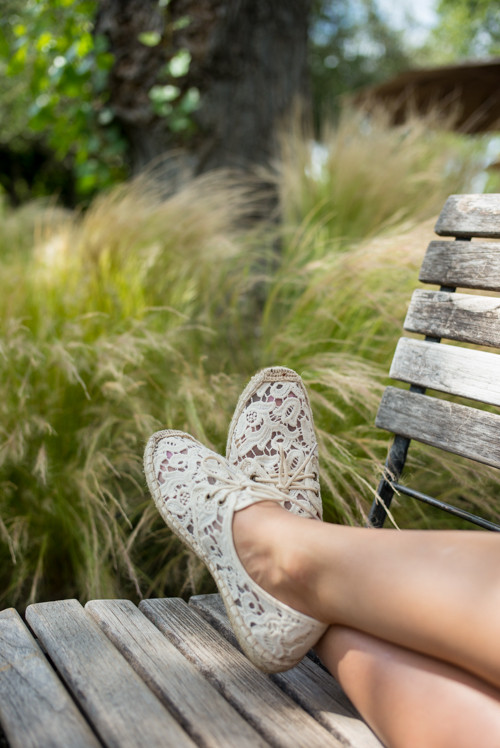 Soludos Lace Espadrilles for summer