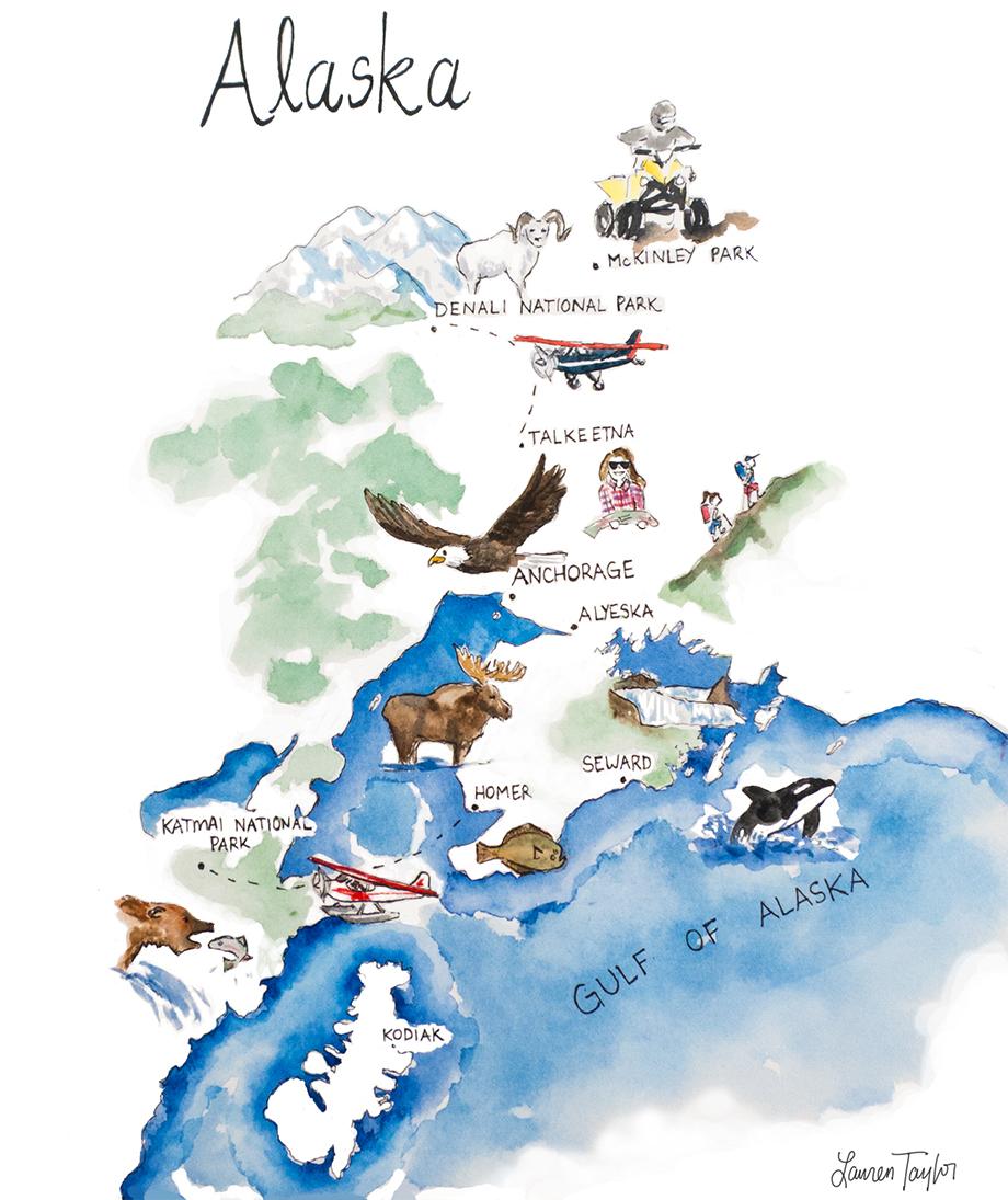 Awesome Alaska Itinerary