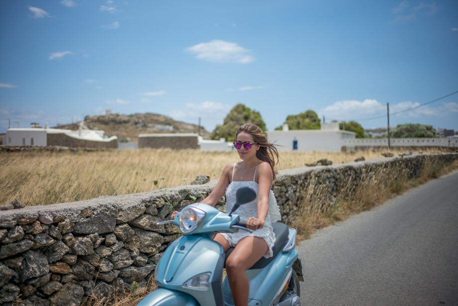 Mykonos Scooter Ride