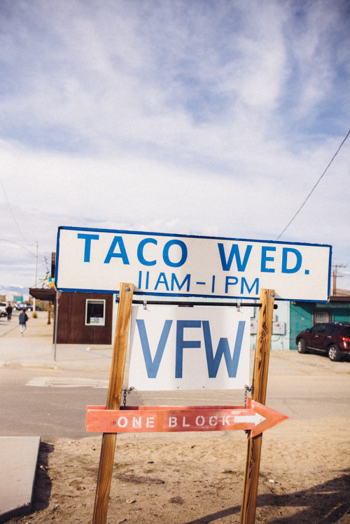 Joshua Tree Taco Wednesday