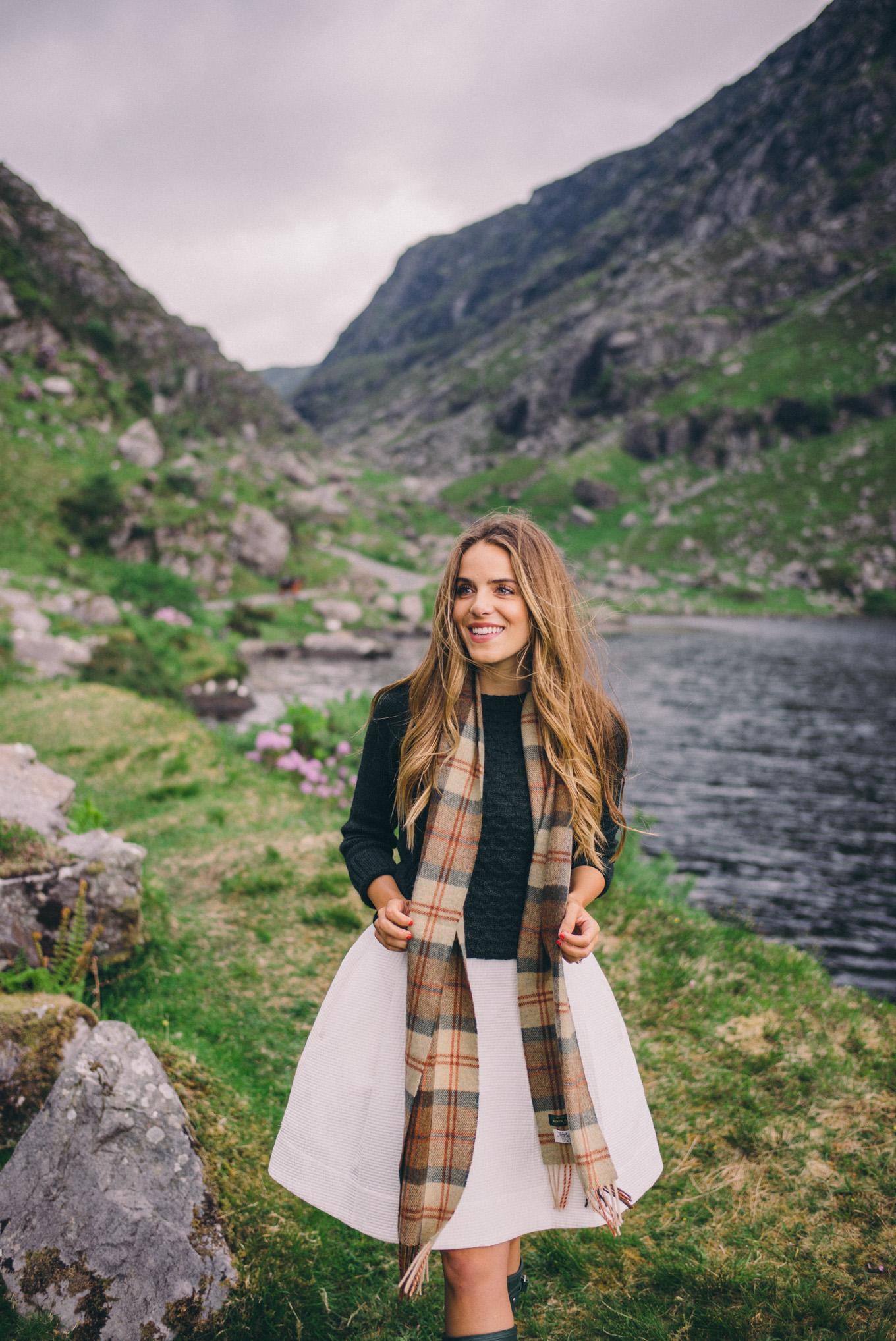 Gal Meets Glam Gap of Dunloe Killarney National Park Ireland