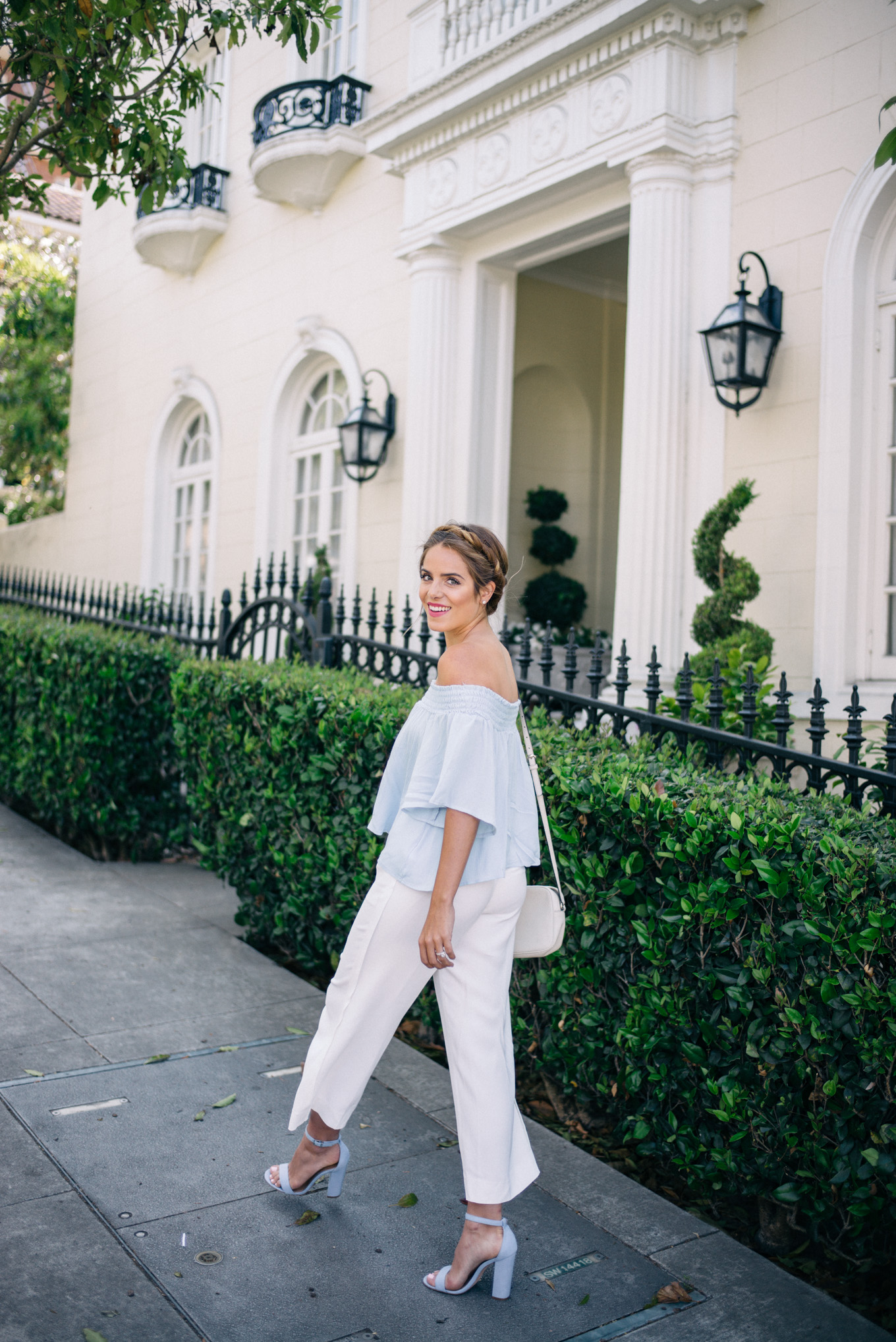 71eed472c06 White Summer Trousers - Gal Meets Glam