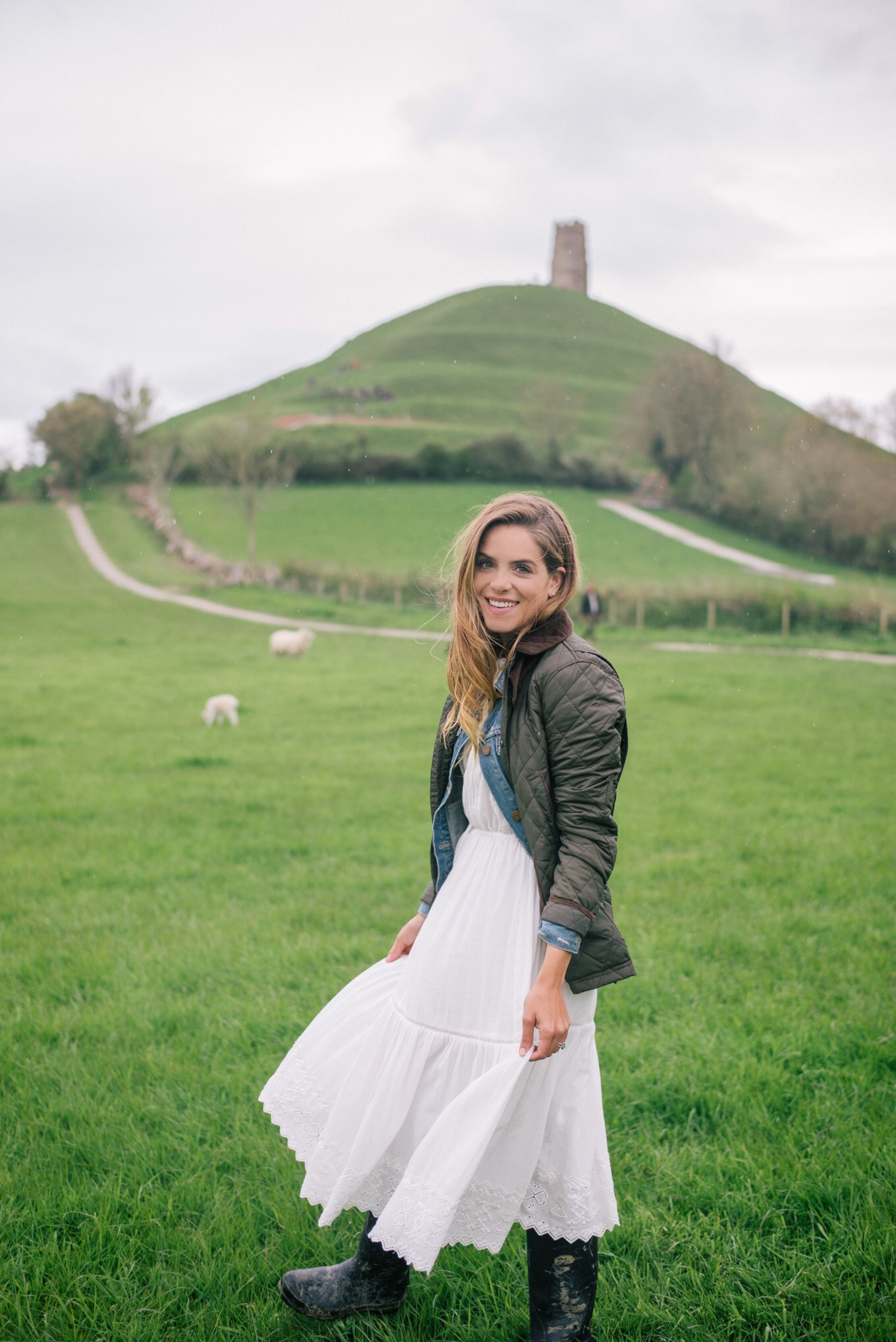 Gal Meets Glam Glastonbury Tor