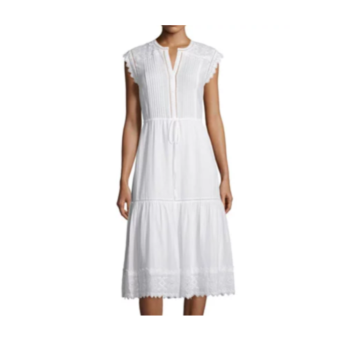 Rebecca Taylor White Dress