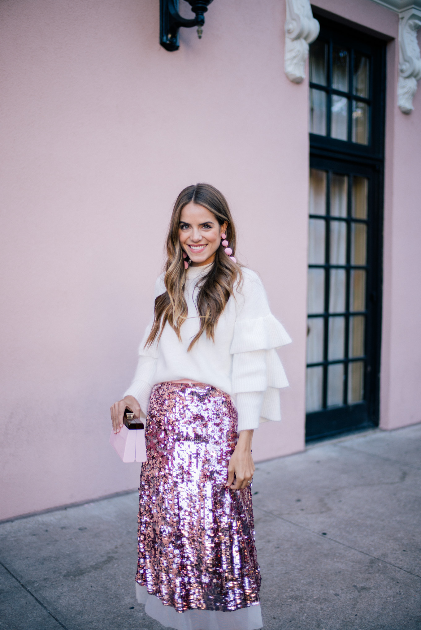 gmg-pink-sequin-skirt-1003582