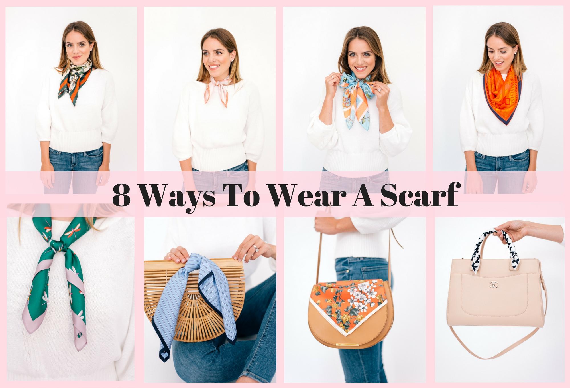 8 Ways To Wear A Scarf
