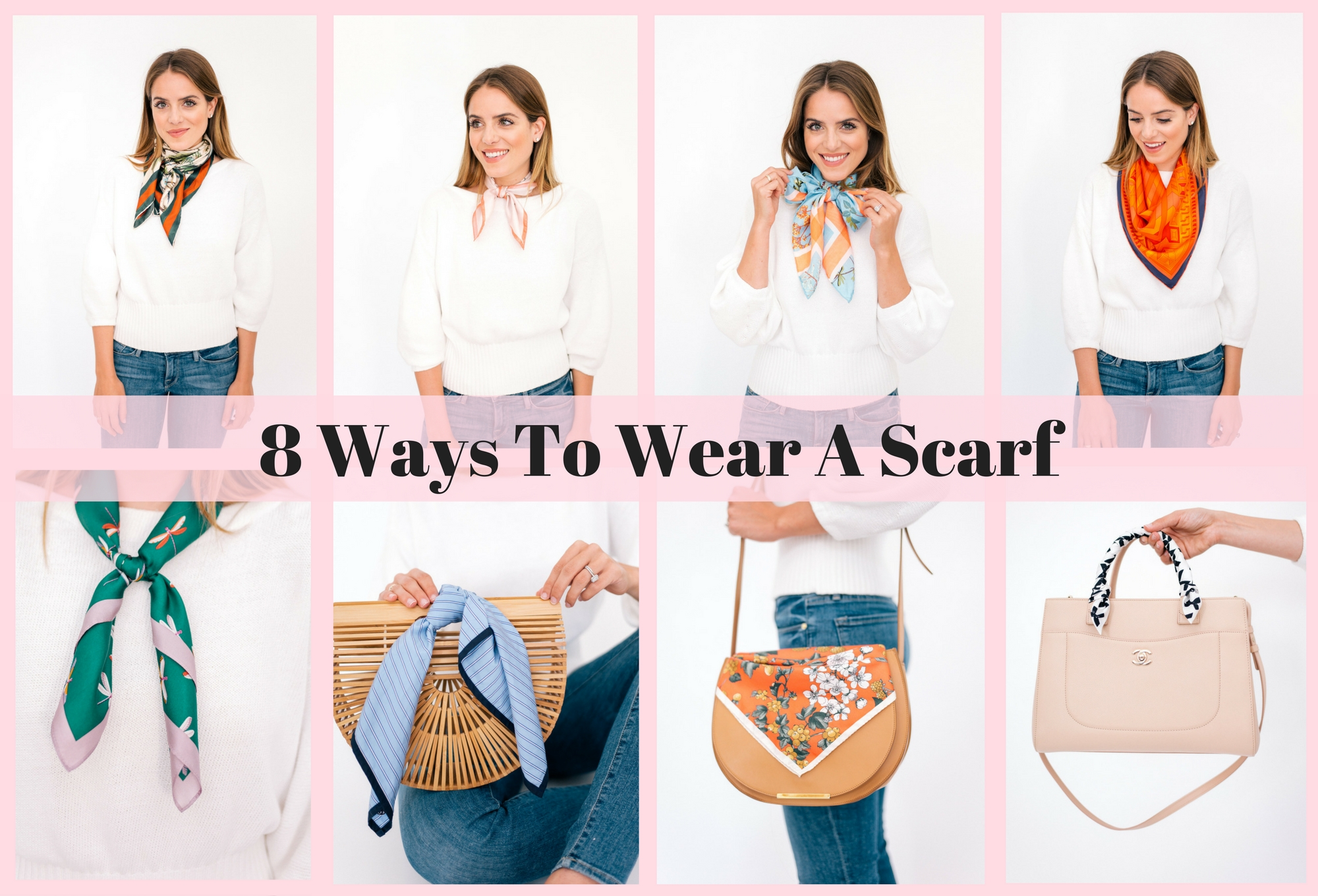 18 Ways To Wear A Scarf   Julia Berolzheimer
