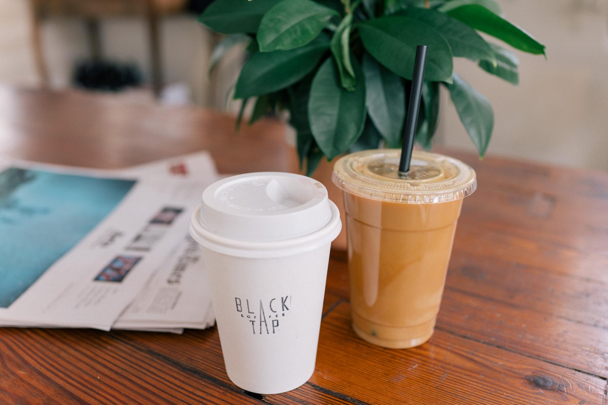 Charleston Itinerary where to get coffee black tap