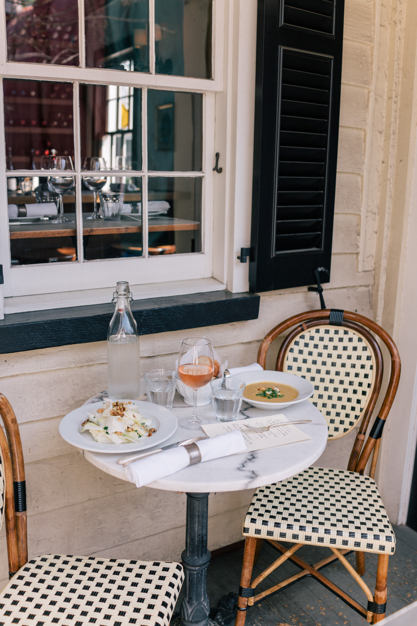 Charleston Itinerary where to eat chez nous