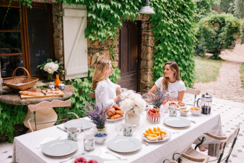 Contributor Series: Market Breakfast Table In France