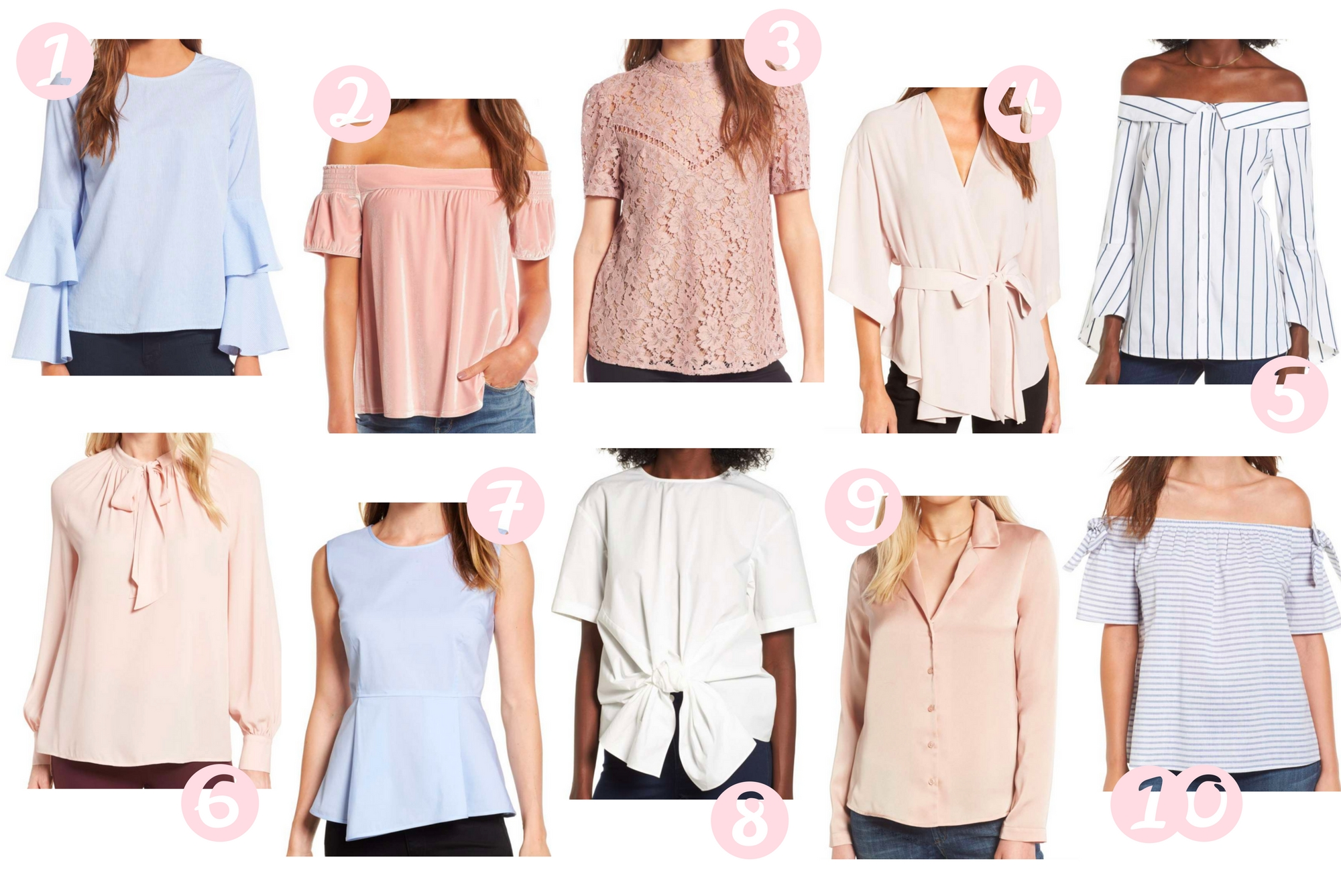 Girl On A Budget: 10 Tops Under $50