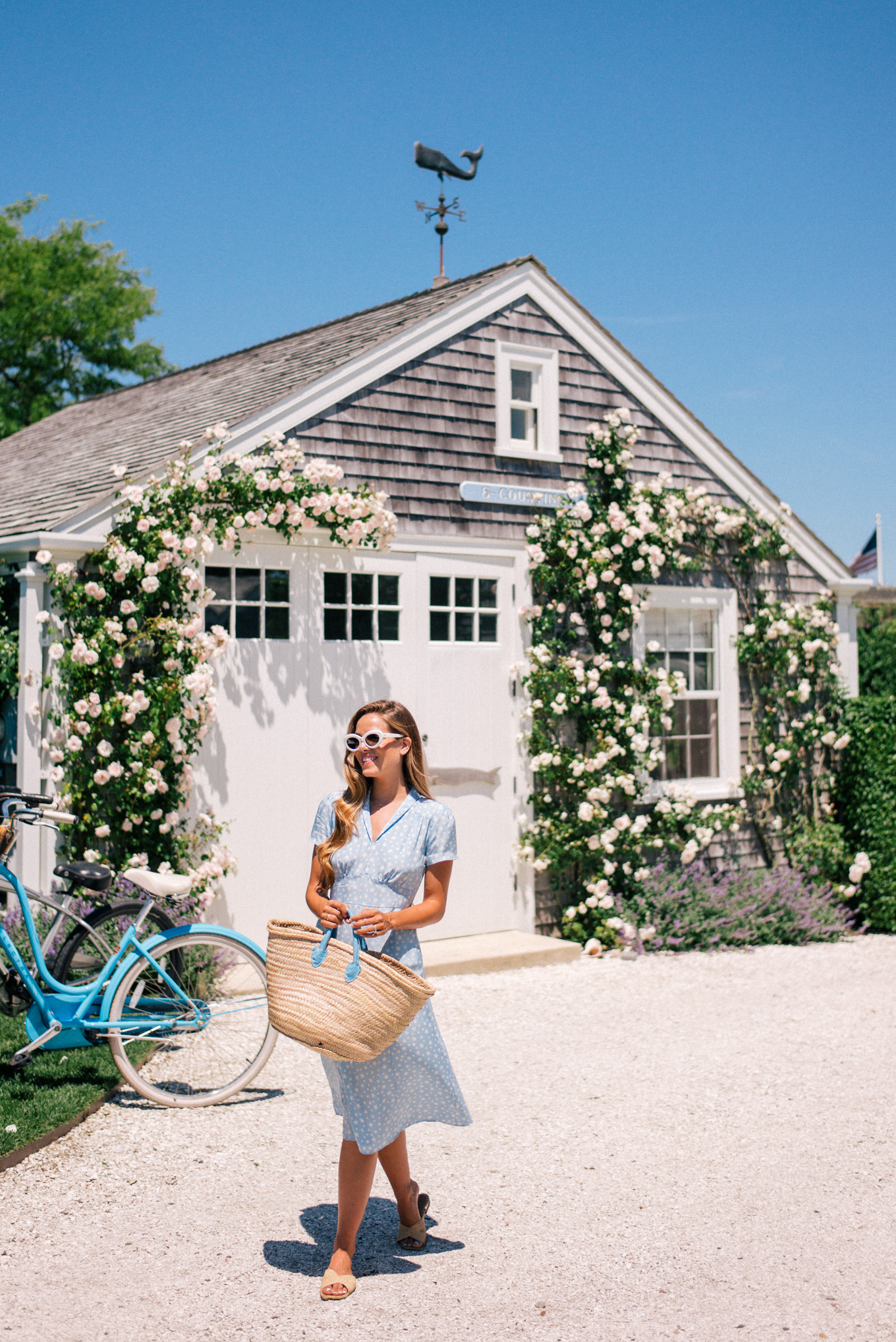 Julia Engel from Gal Meets Glam on Nantucket