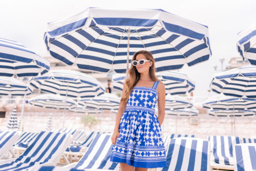 Blue & White in Nice, France
