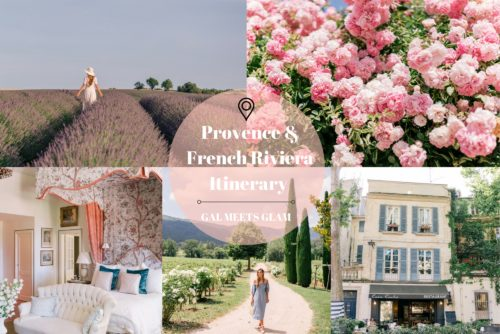Provence & French Riviera Itinerary