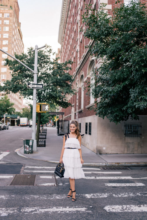 680e49a2b9 Outfit Details: J.Crew Dress (on sale for under $68), Cuyana Belt, Alaia  Heels (similar version under $200), Dior Bag (similar here) A few months  ago I ...
