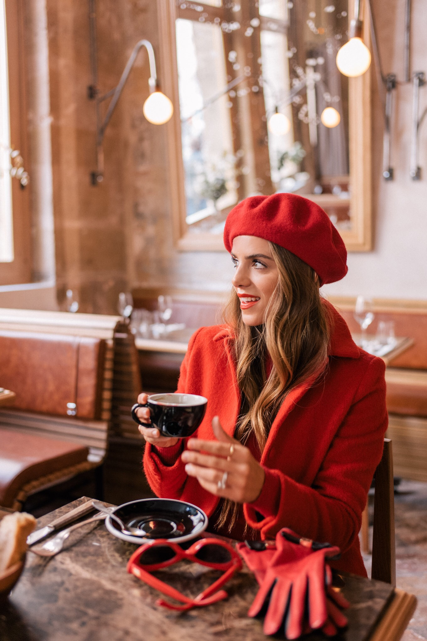 Birthday In Paris - Red Outfit