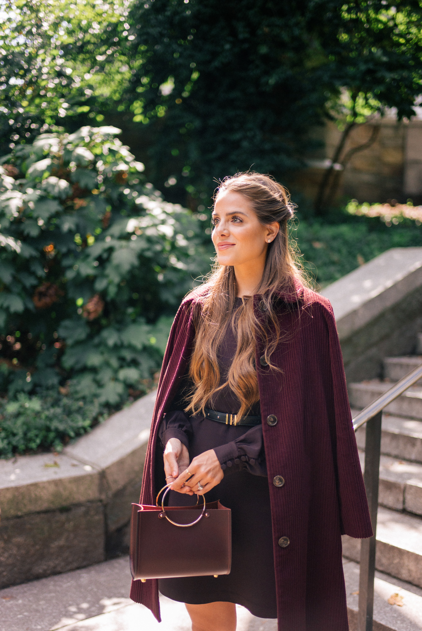 burgundy fall style