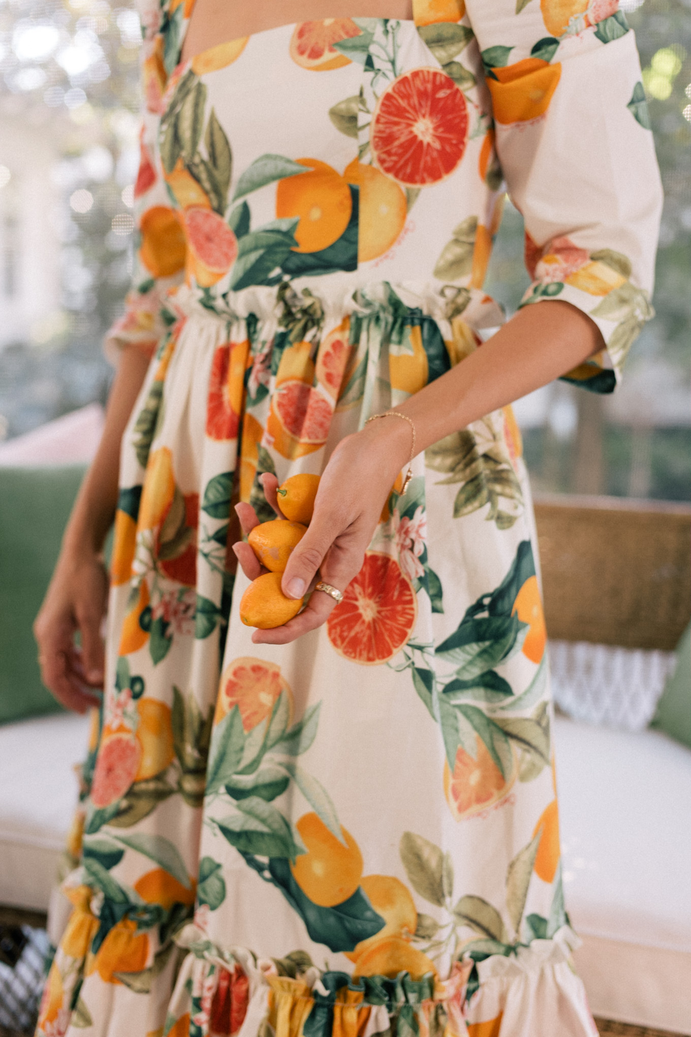 citrus matching dresses