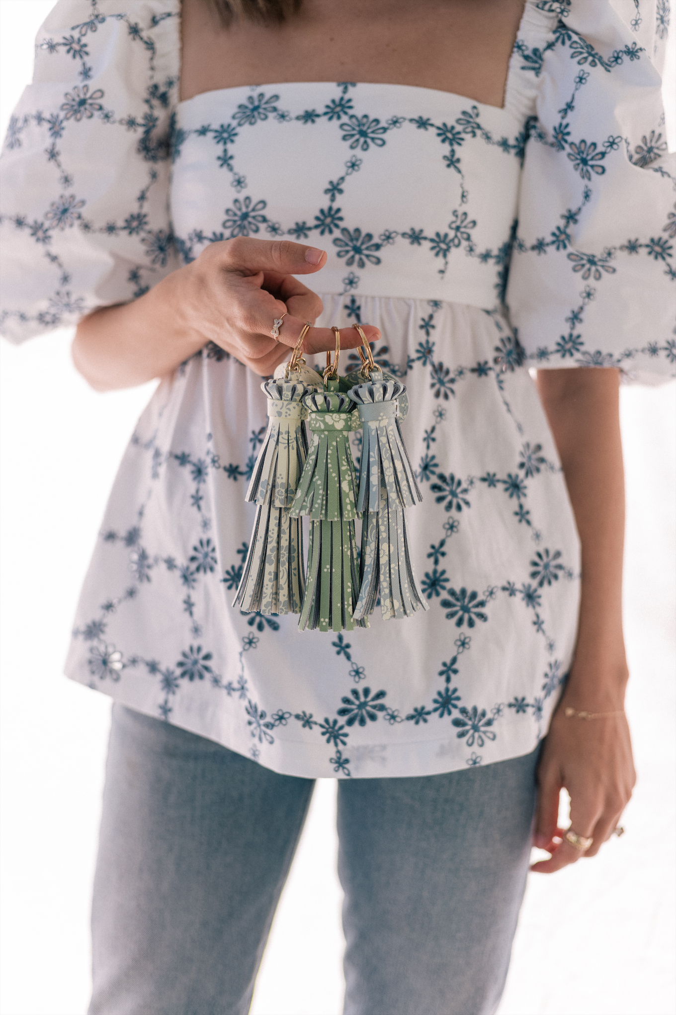 spring floral pastel leather bags