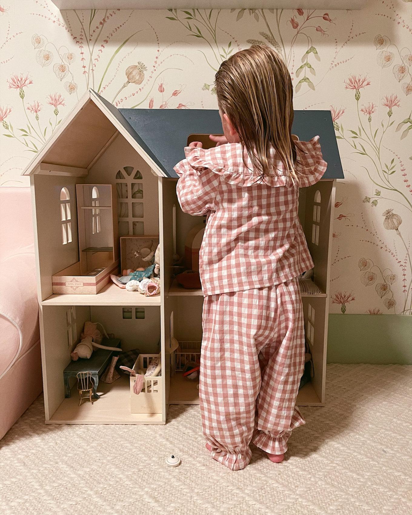 little girl toddler pajamas